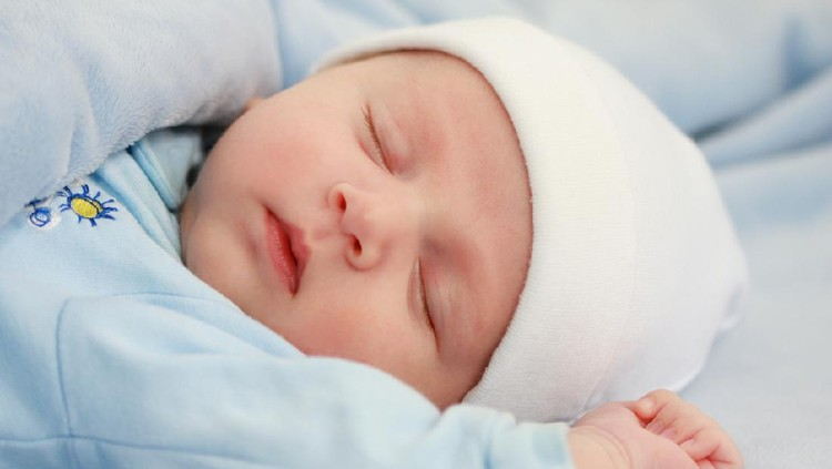 Ilustrasi bayi laki-laki