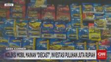 VIDEO: Koleksi Mainan Diecast, Investasi Puluhan Juta Rupiah
