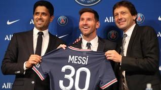 Gaji Sehari Messi di PSG Bisa Borong iPhone Buat Warga 1 RT
