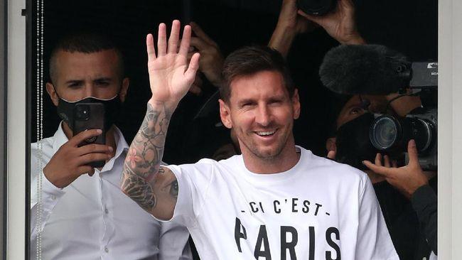 Pelatih Brest, Michel Der Zakarian, berharap Lionel Messi main membela PSG dalam pertandingan Liga Prancis di Stadion Francis Le Ble, Jumat (20/8).