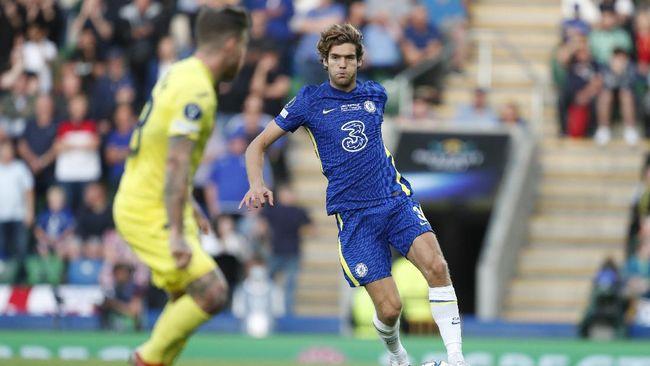 Bek Chelsea Marcos Alonso mengatakan tidak akan lagi melakukan aksi berlutut sebelum laga sebagai cara untuk memerangi aksi rasial di Liga Inggris.