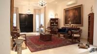 <p>Rumah bernuansa putih berlokasi di Kemang tersebut diketahui memiliki konsep minimalis modern. Berikut ruangan pertama yang terlihat begitu masuk, nuansa elegan dari interior yang didominasi kayu sangat terlihat ya, Bunda. (Foto: YouTube: Oz Production)</p>