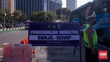 Ganjil Genap di Jakarta Bertambah Menjadi 13 Ruas Jalan