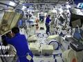 VIDEO: Astronaut China Aktifkan Ruang Gravitasi di Tiangong