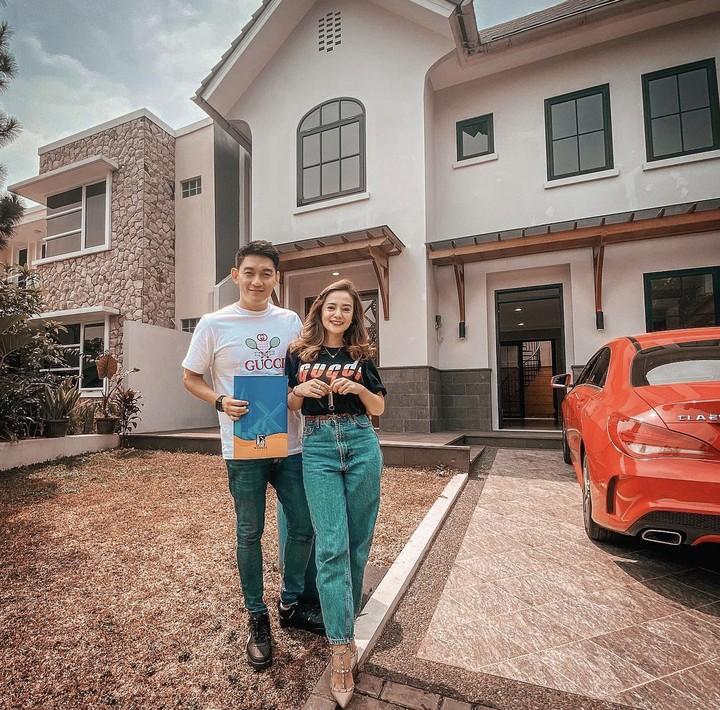 Rumah baru Ifan Seventeen dan Citra Monica.