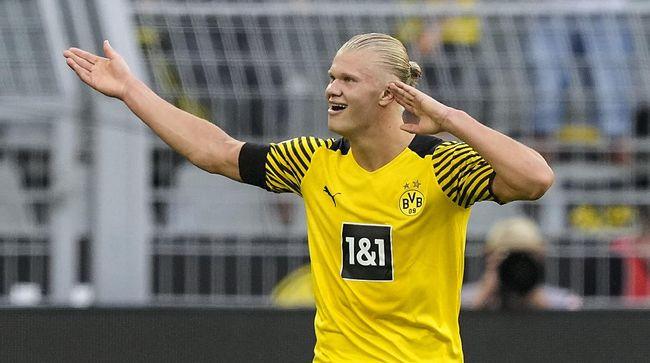 Erling Haaland tampil garang di pekan pertama Bundesliga lewat catatan dua gol dan dua assist pada laga lawan Eintracht Frankfurt.