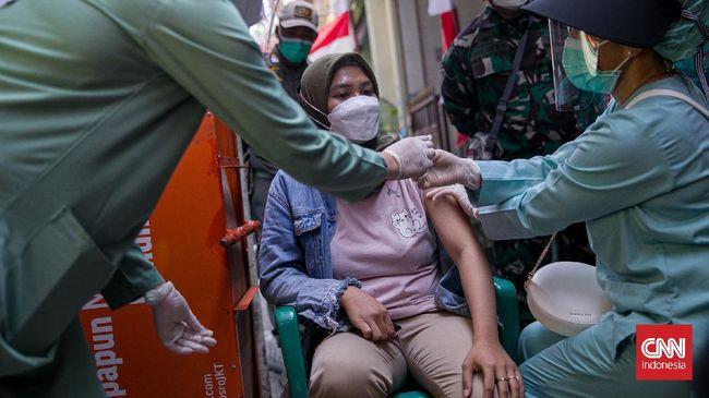 Tingkat vaksinasi di Sumatera Barat dan Lampung belum mencapai  20 persen dari target, sehingga menjadi perhatian Presiden Jokowi.