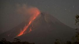 Gunung Merapi 60 Kali Luncurkan Lava dalam Sepekan