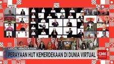 VIDEO: Perayaan HUT Kemerdekaan di Dunia Virtual