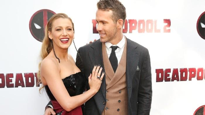 Bikin Baper! Simak Potret Kemesraan dan Gaya Stylish Blake Lively dan Ryan Reynolds di Red Carpet