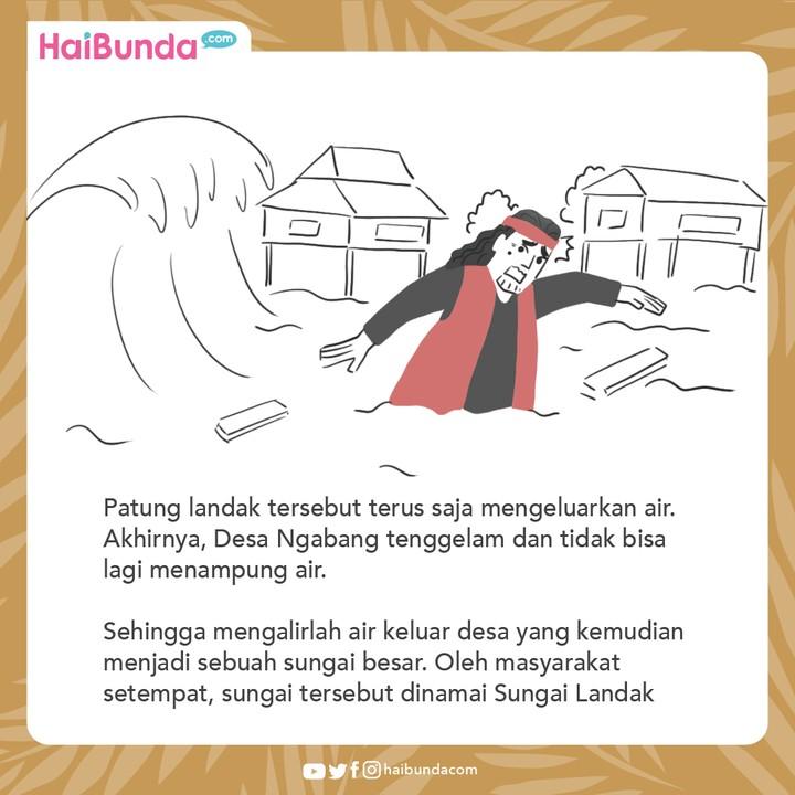 Cerita Nusantara Asal Mula Sungai Landak
