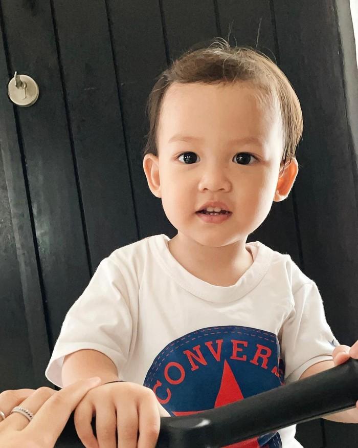 Dari pernikahan sebelumnya dengan Zikri Daulay, Henny Rahman memiliki 1 anak yang bernama Zayn El Barack Daulay. Saat ini, Zayn baru berusia 2 tahun. (Foto keluarga artis/instagram.com/ hennyyrahman)