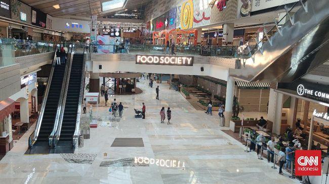 Asosiasi Persatuan Pusat Belanja Indonesia memperkirakan kenaikan pengunjung maksimal 10 persen apabila anak usia di bawah 12 tahun boleh masuk mal saat PPKM.