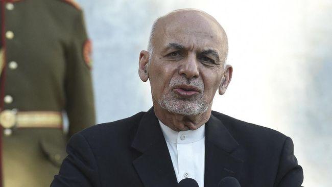 Presiden Ashraf Ghani Berencana Pulang ke Afghanistan
