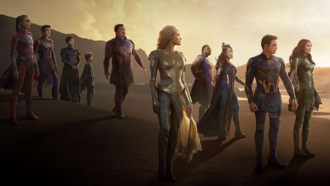 Penjualan tiket di muka Eternals di bioskop AS dilaporkan mengalahkan Shang-Chi Shang-Chi and the Legend of the Ten Rings dan Black Widow.