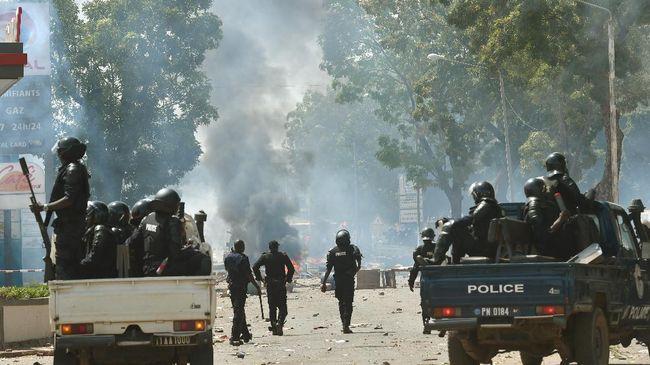 Bentrokan antara militan Islam dan tentara pemerintah terjadi di utara Burkina Faso pada Rabu (18/8).