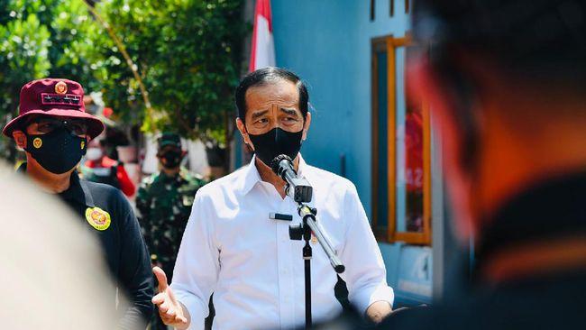 Presiden Jokowi menyatakan penyebaran Covid-19 tidak mudah diprediksi, sehingga memerlukan kebijakan yang tepat dalam menanganinya.
