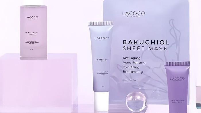 4 Produk Terbaru Lacoco Bakuchiol Series, Kemasan Berwarna Lilac Super Gemas!