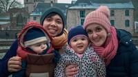 <p>Pasangan beda negara ini juga telah dikaruniai dua anak yang menggemaskan lho. Mereka adalah Leina-Greece Celosse dan Lars-Jordan Celosse. (Foto: instagram @liz.belgia)</p>
