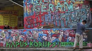 Reaktif Aparat Hapus Mural Dibalas Lomba Gejayan Memanggil