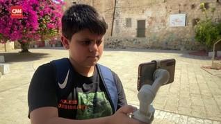 VIDEO: Vlogger Palestina Promosi Wisata ke Situs Bersejarah