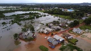 Hujan Deras Sejak Senin, 5 Desa di Lampung Terendam Banjir