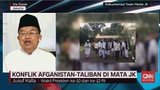 VIDEO: JK Bicara Konflik Taliban-Afganistan