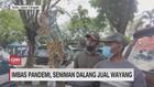 VIDEO: Imbas Pandemi, Seniman Dalang Jual Wayang