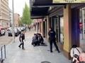 VIDEO: Detik-detik Baku Tembak Sayap Kanan-Kiri di Jalanan AS