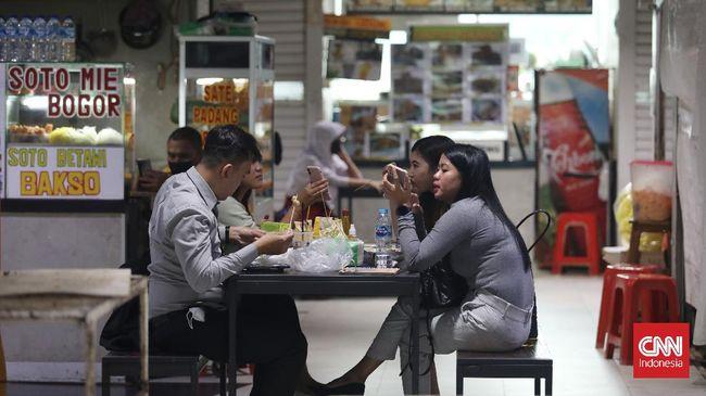 Pengunjung mal diharapkan meningkat setelah waktu makan di restoran (dine in) dari 30 menit menjadi 60 menit selama PPKM perpanjangan 7-13 September.
