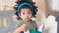 <p>Xavier lahir pada 12 Agustus 2020. Kehadiran Xavier ini menambah kebahagiaan di keluarga kecil Ricky Perdana. (Foto: Instagram @chacathakya15)</p>