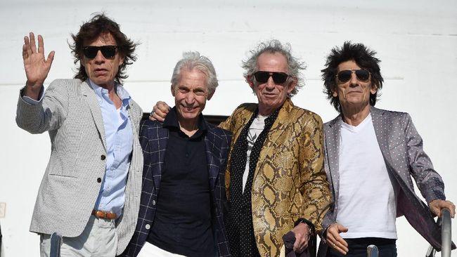 The Rolling Stones sampaikan salam cinta untuk Charlie Watts, yang meninggal dunia 24 Agustus lalu.