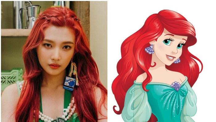 Cantiknya! Idol K-Pop Ini Seperti Disney Princess di Dunia Nyata