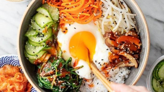 Resep Bibimbap ala Korea, Solusi Makan Akhir Bulan yang Enak dan Murah!