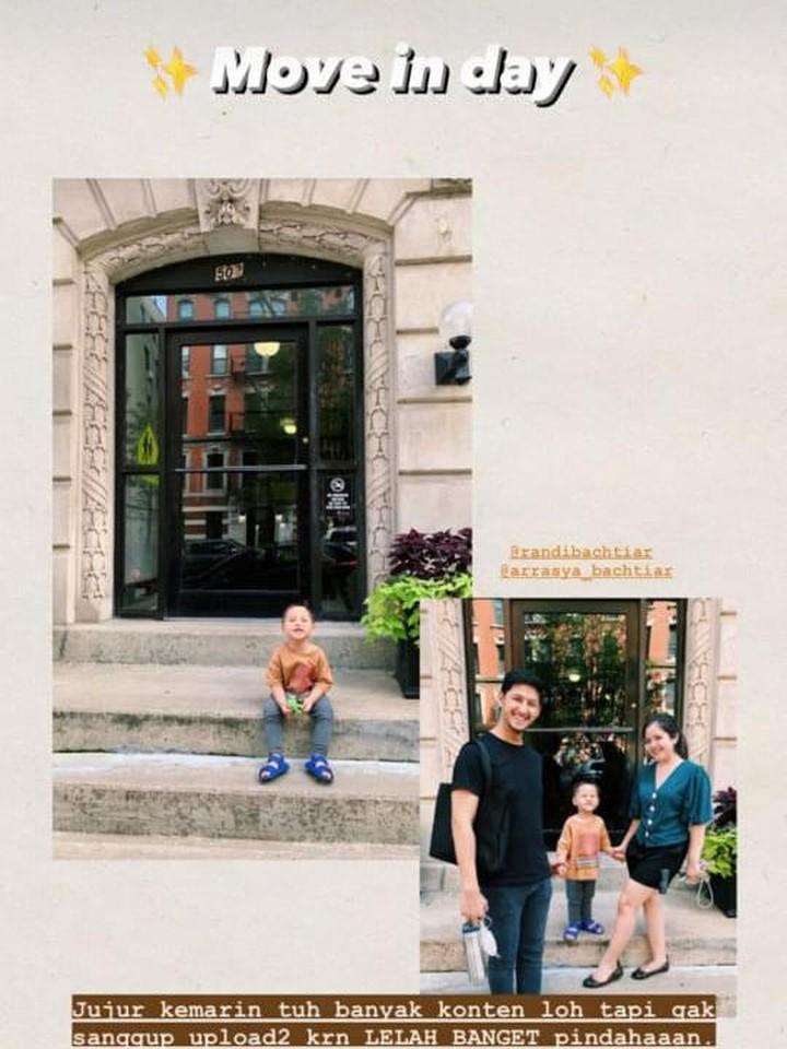 Apartemen Tasya dan Randi di New York