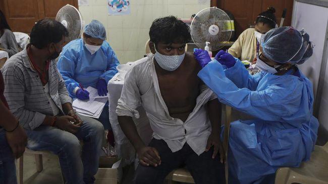 India mencetak rekor vaksin Covid-19 terbanyak dalam sehari yakni 22 juta vaksin saat peringati ulang tahun Perdana Menteri Narendra Modi.