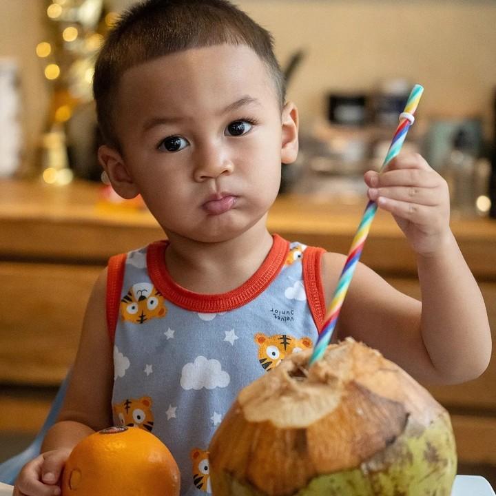 Kiano Tiger Wong, anak Baim Wong