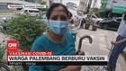 VIDEO: Warga Palembang Jadi Pemburu Vaksin