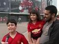 VIDEO: Fan Man Utd Girang Ronaldo Pulang ke Old Trafford