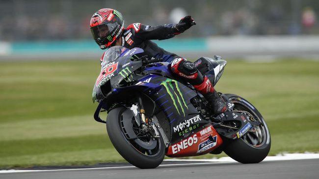 Pembalap tim Monster Energy, Fabio Quartararo, yang memimpin klasemen pembalap merasa tak bisa melawan Ducati dalam kualifikasi MotoGP San Marino 2021.