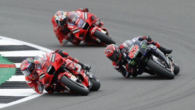 Balapan MotoGP San Marino 2021 akan digelar di Sirkuit Misano, Minggu (19/9). Berikut prediksi MotoGP San Marino 2021.