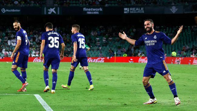 Real Madrid punya keunggulan rekor atas Inter Milan jelang duel Liga Champions di Giuseppe Meazza, Rabu (15/9).