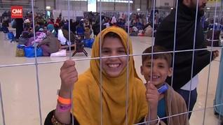 VIDEO: Babak Baru Pengungsi Afghanistan di Pangkalan Ramstein