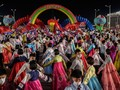 FOTO: Dansa Gembira Kawula Muda Korea Utara