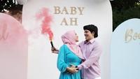 <p>Momen yang ditunggu pun datang. Aurel dan Atta mengumumkan bahwa jenis kelamin anak pertama mereka adalah perempuan. (Foto: Instagram: @aurelie.hermansyah)</p>