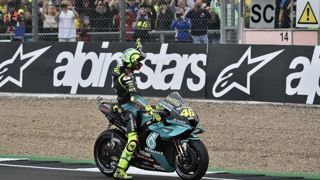 Pembalap senior Valentino Rossi mengaku takut menghadapi masa pensiun jelang MotoGP San Marino 2021 di Sirkuit Misano, Minggu (19/9).