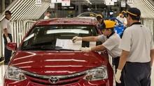 Minim Pasokan, 14 Pabrik Toyota Bakal Istirahat pada Oktober