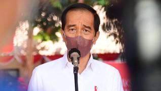 Survei Indikator: Kepuasan pada Jokowi Turun Sejak 2019