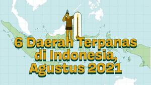 INFOGRAFIS: 6 Daerah Terpanas Di Indonesia Agustus 2021