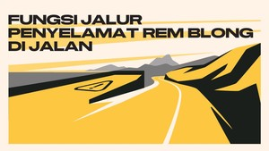 INFOGRAFIS: Fungsi Jalur Penyelamat Mobil Rem Blong